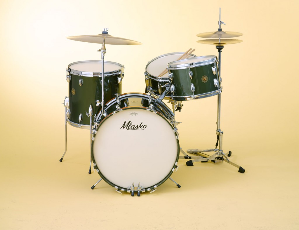 Four piece set with Cadillac Green lacquer finish